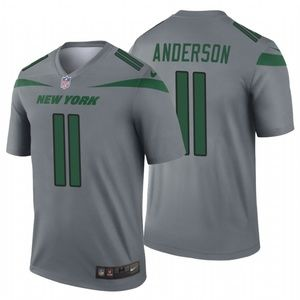 Men's Robby Anderson #11 New York Jets Jersey